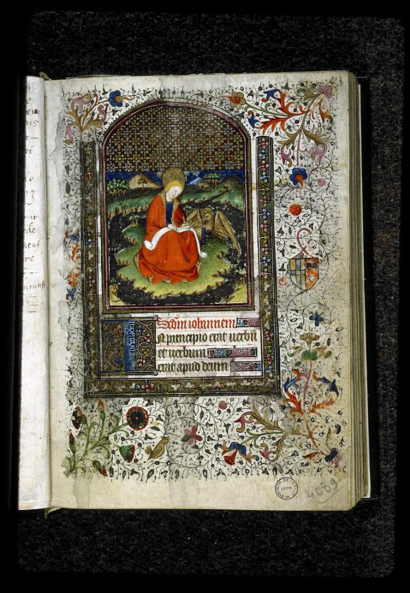 Lyon, Bibl. mun., ms. 5142, f. 001 - vue 2