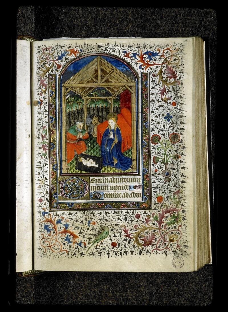 Lyon, Bibl. mun., ms. 5142, f. 039 - vue 1