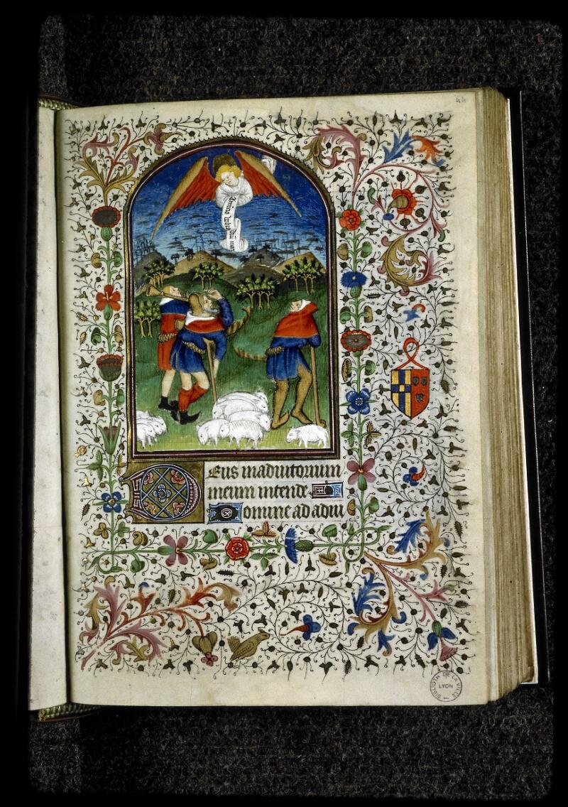 Lyon, Bibl. mun., ms. 5142, f. 044 - vue 1
