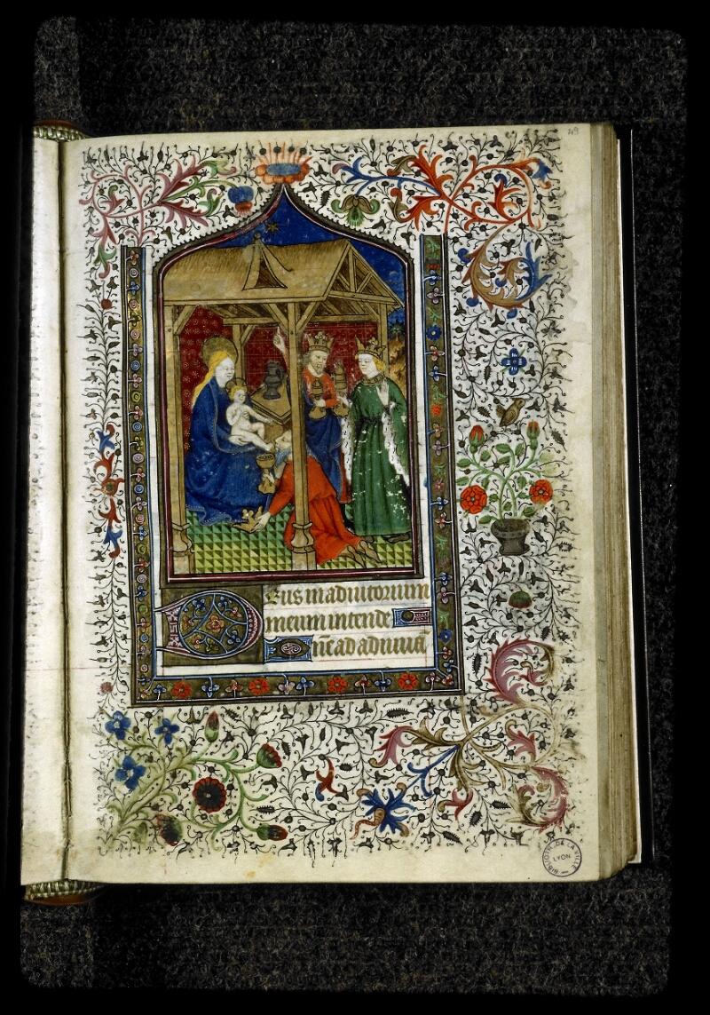 Lyon, Bibl. mun., ms. 5142, f. 049 - vue 1