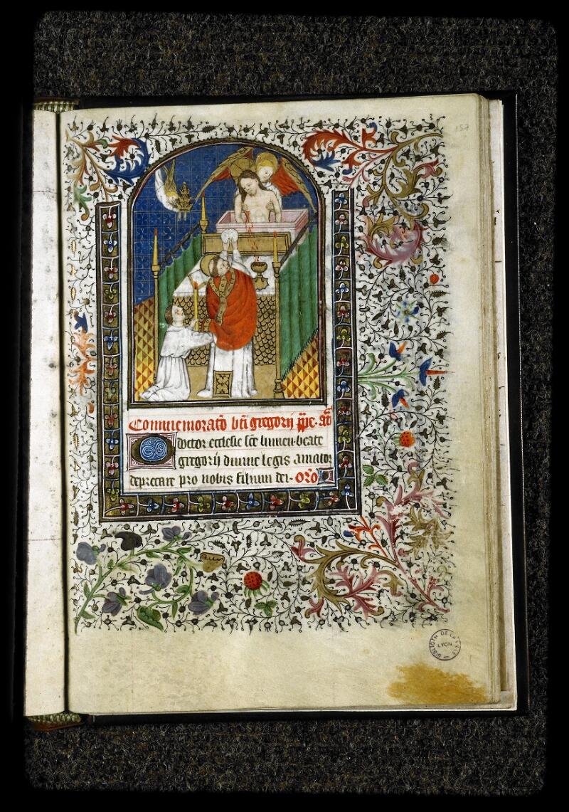 Lyon, Bibl. mun., ms. 5142, f. 157 - vue 1