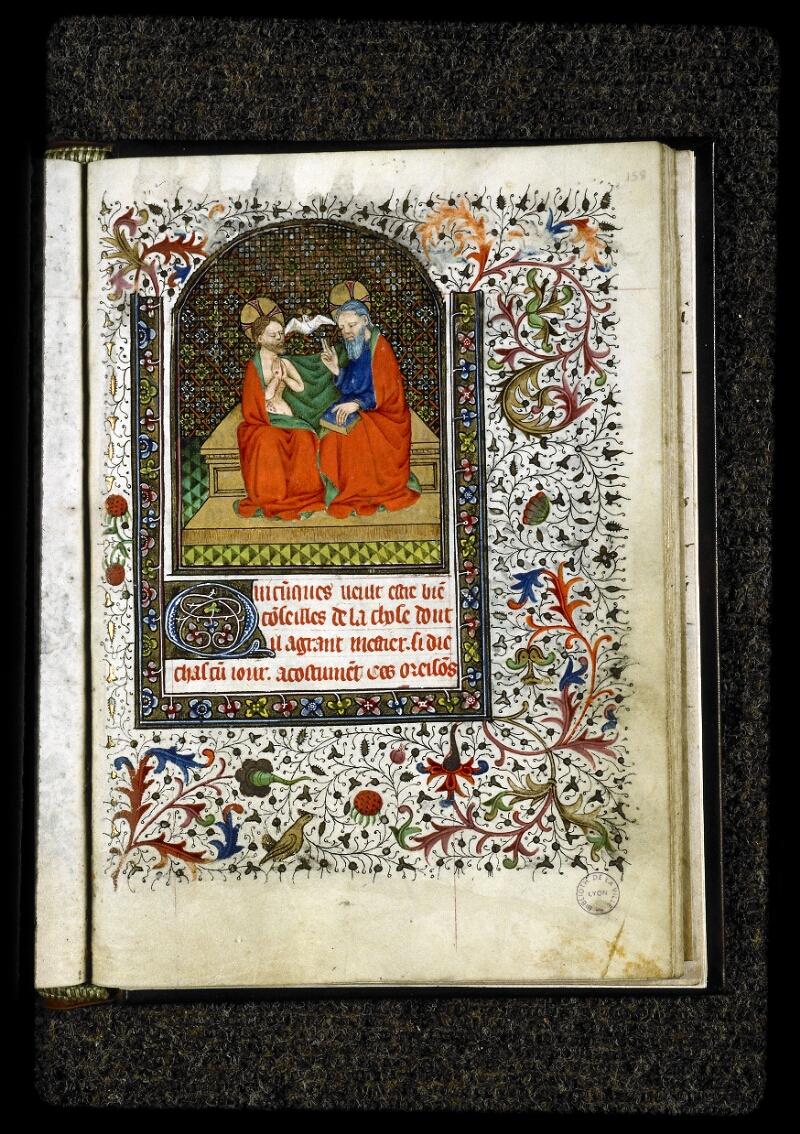 Lyon, Bibl. mun., ms. 5142, f. 158 - vue 1