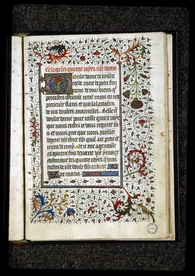 Lyon, Bibl. mun., ms. 5142, f. 165