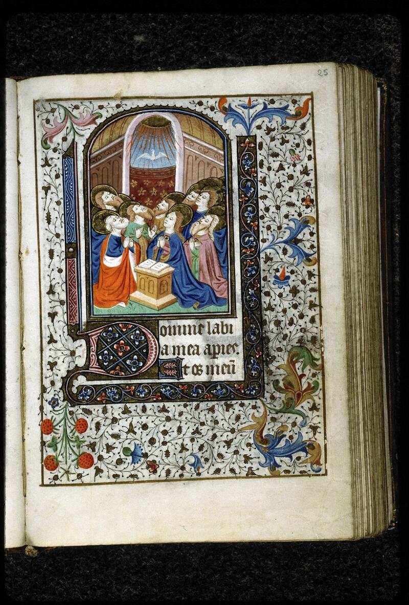 Lyon, Bibl. mun., ms. 5143, f. 025 - vue 1