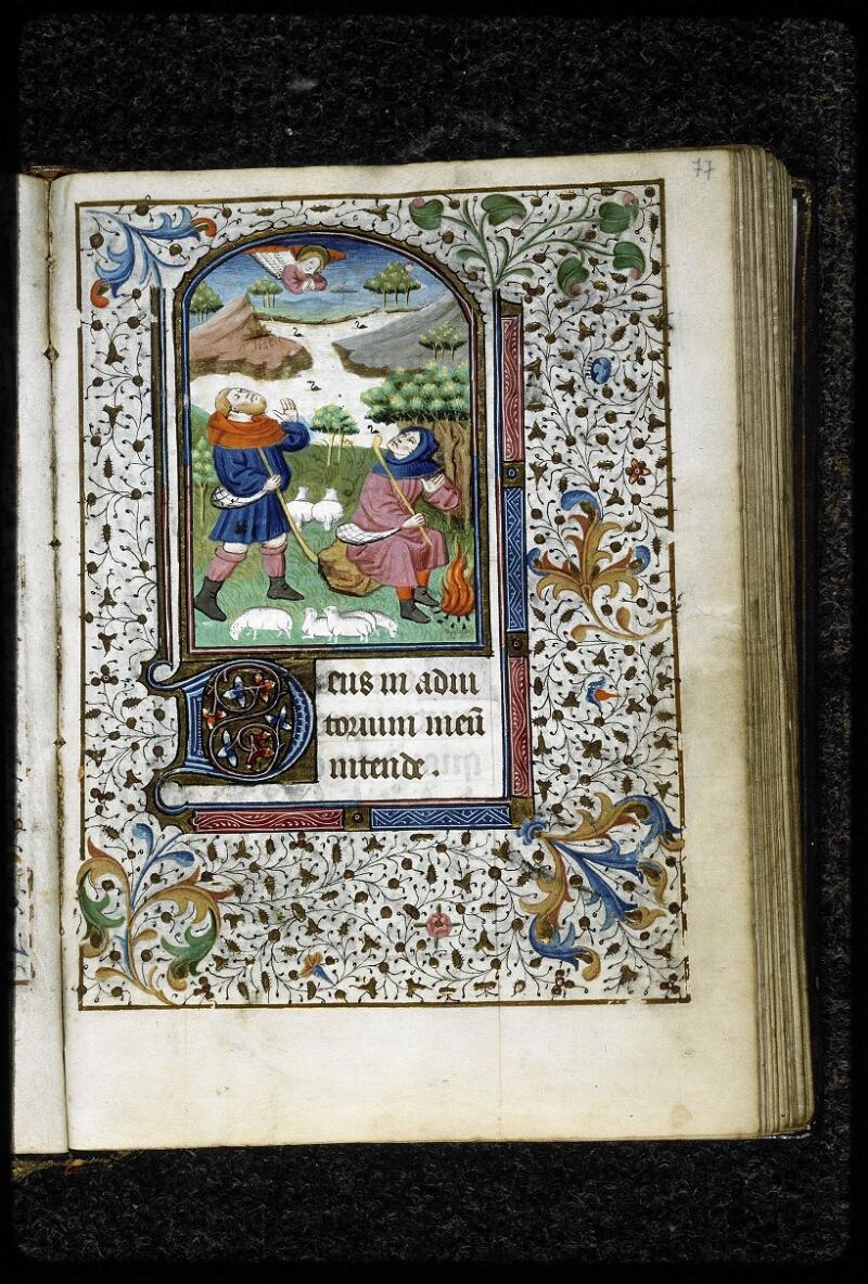 Lyon, Bibl. mun., ms. 5143, f. 077 - vue 1