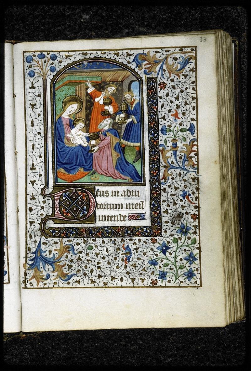 Lyon, Bibl. mun., ms. 5143, f. 083 - vue 1