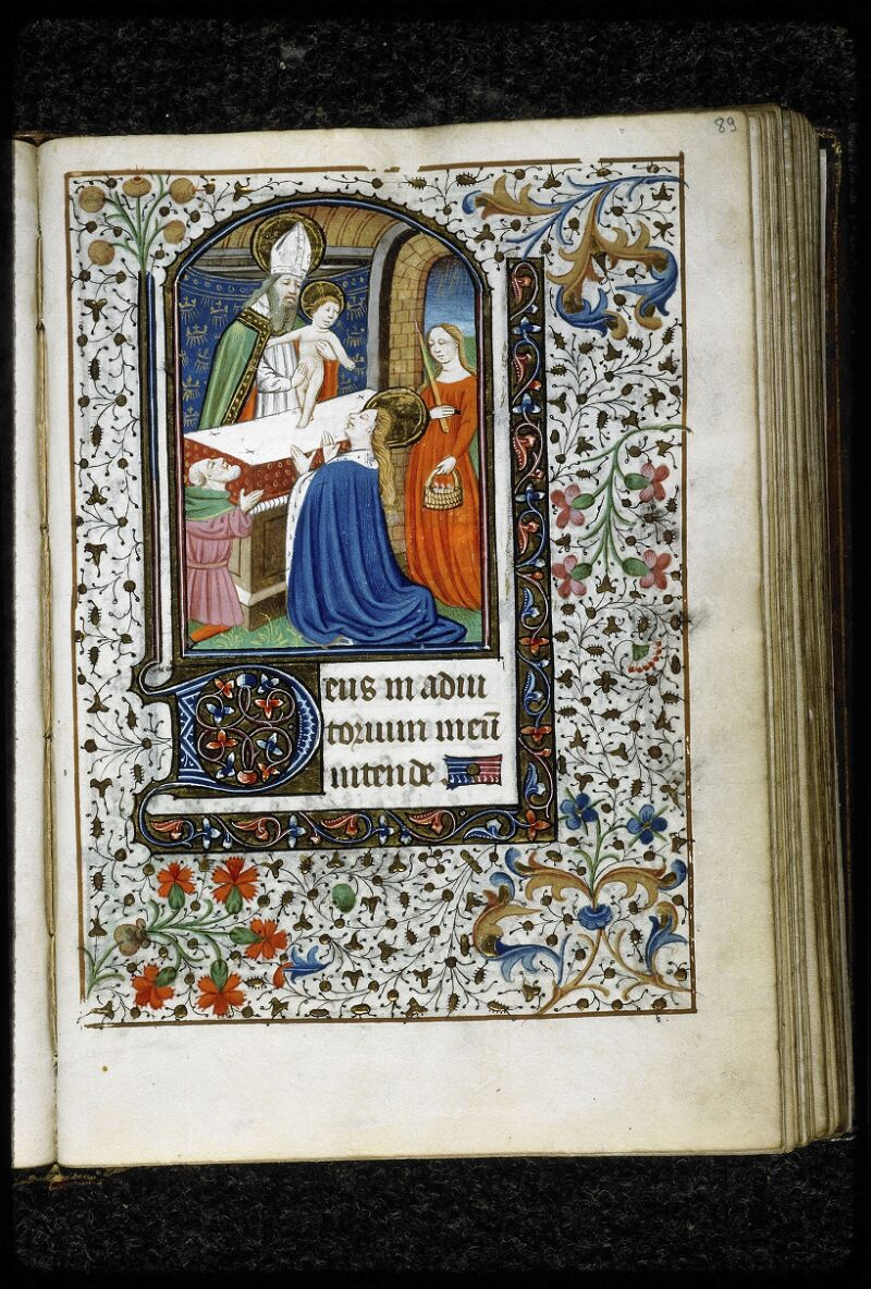 Lyon, Bibl. mun., ms. 5143, f. 089 - vue 1