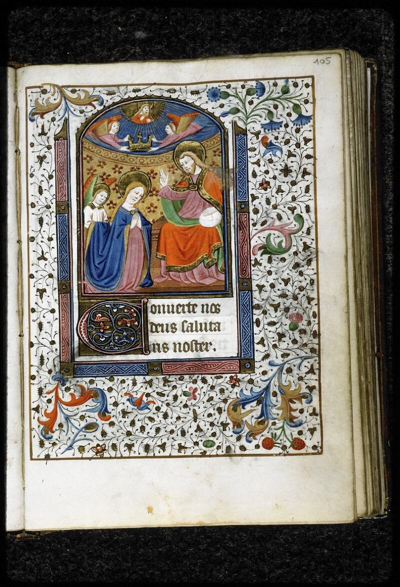 Lyon, Bibl. mun., ms. 5143, f. 105 - vue 1