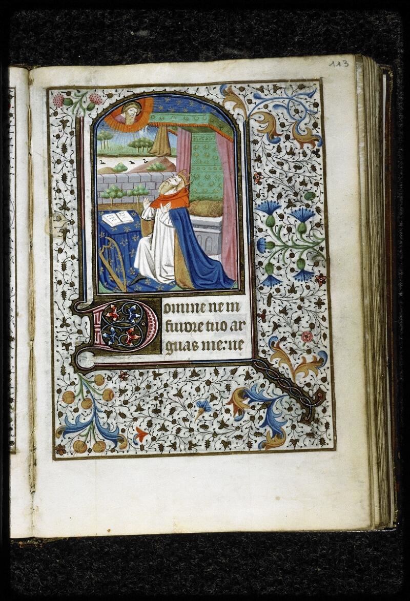 Lyon, Bibl. mun., ms. 5143, f. 113 - vue 1