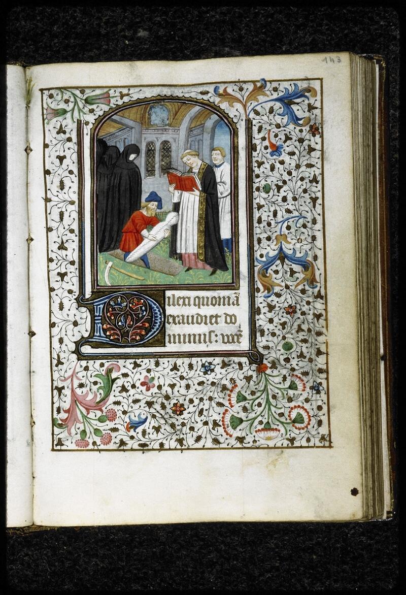 Lyon, Bibl. mun., ms. 5143, f. 143 - vue 1