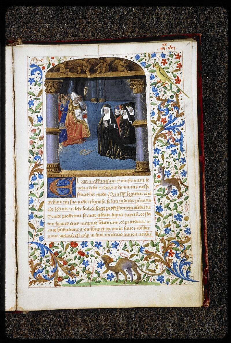 Lyon, Bibl. mun., ms. 5144, f. 101 - vue 1