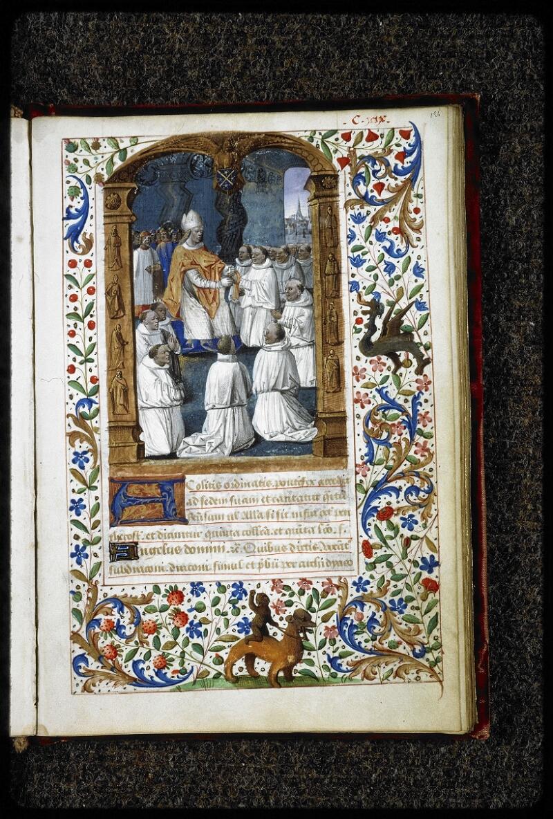 Lyon, Bibl. mun., ms. 5144, f. 124 - vue 01
