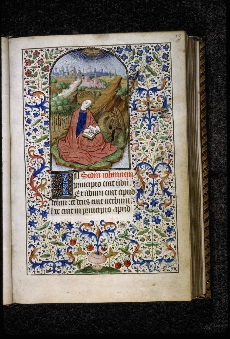 Lyon, Bibl. mun., ms. 5145, f. 013 - vue 2