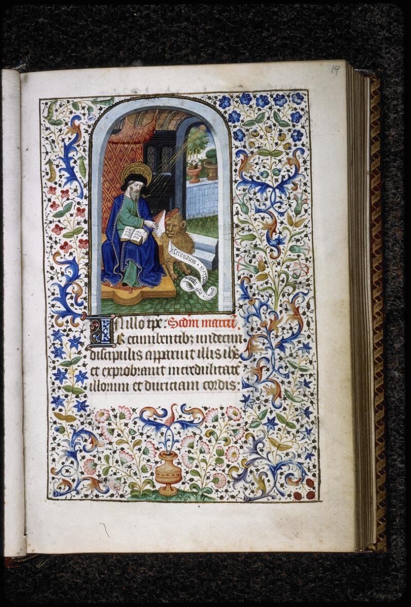 Lyon, Bibl. mun., ms. 5145, f. 019 - vue 1
