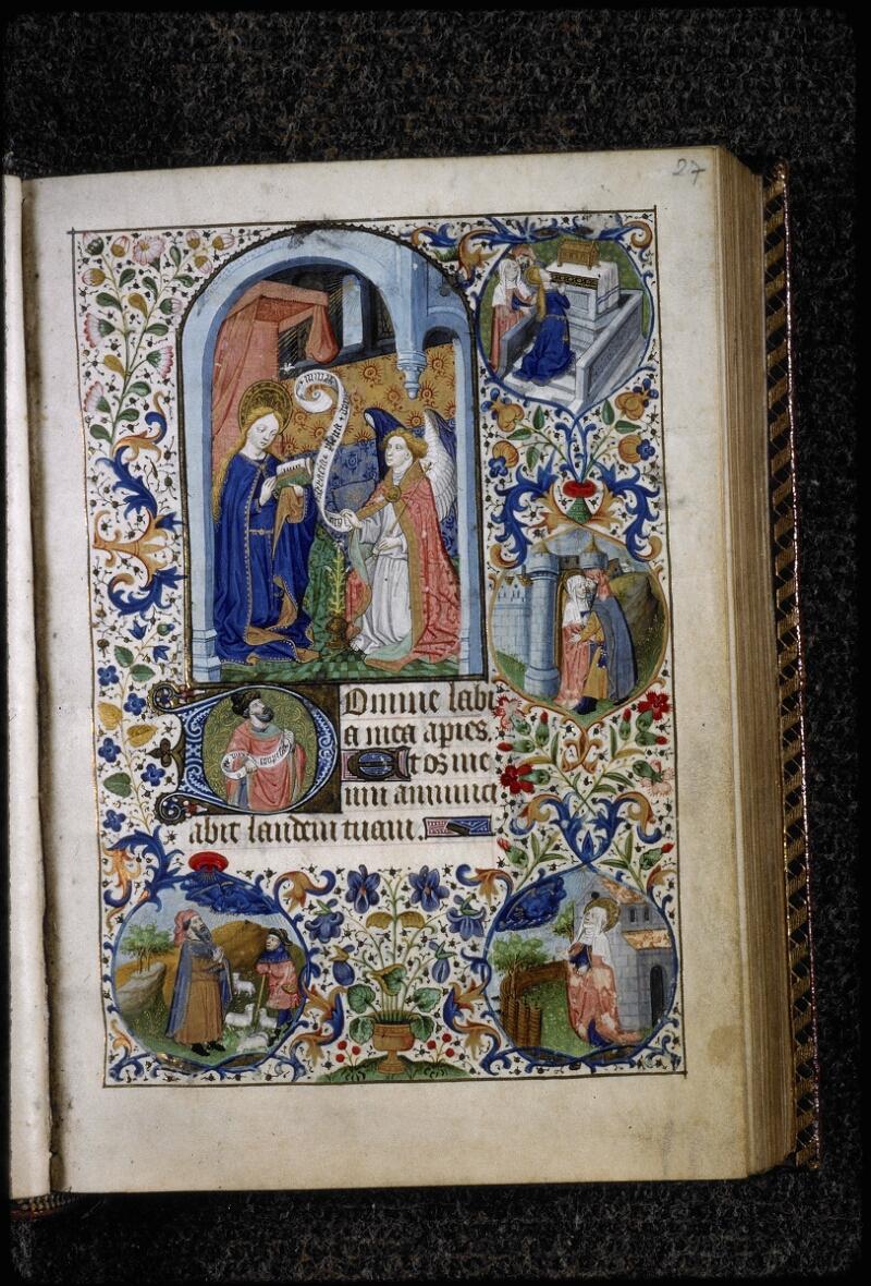 Lyon, Bibl. mun., ms. 5145, f. 027 - vue 1