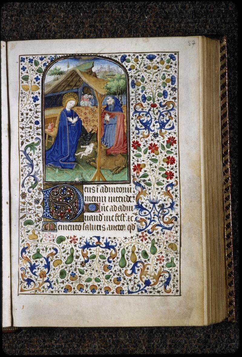 Lyon, Bibl. mun., ms. 5145, f. 057 - vue 1