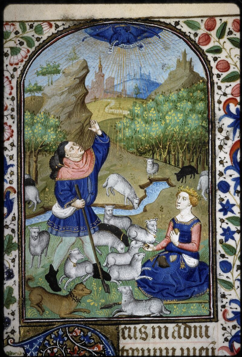 Lyon, Bibl. mun., ms. 5145, f. 061v - vue 2