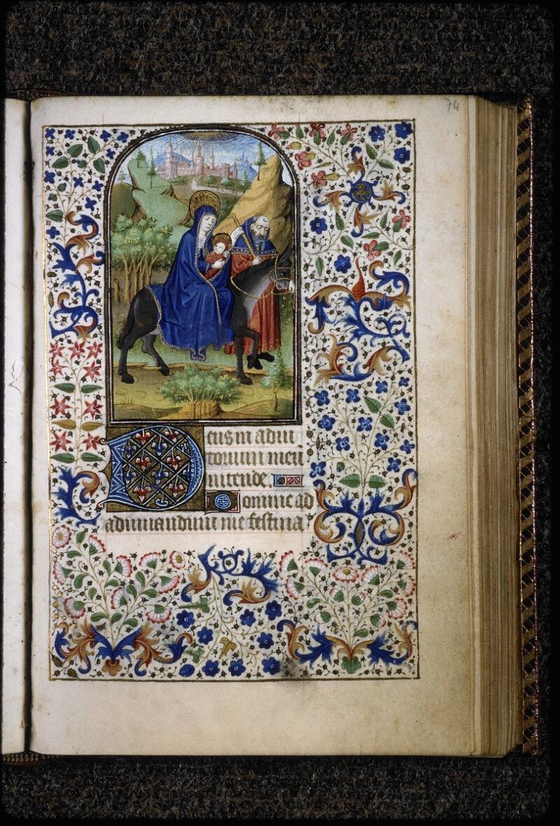 Lyon, Bibl. mun., ms. 5145, f. 074 - vue 1
