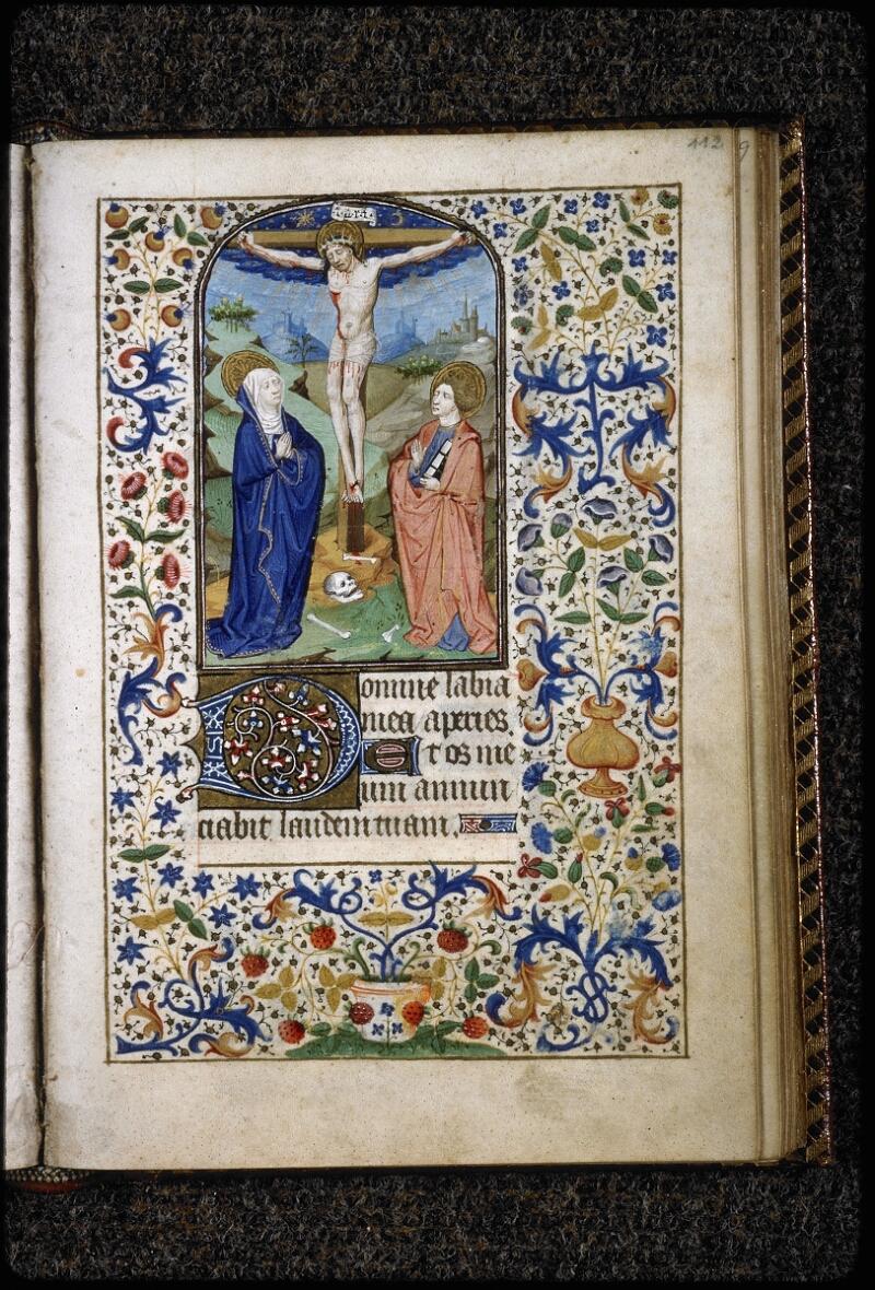 Lyon, Bibl. mun., ms. 5145, f. 112 - vue 1