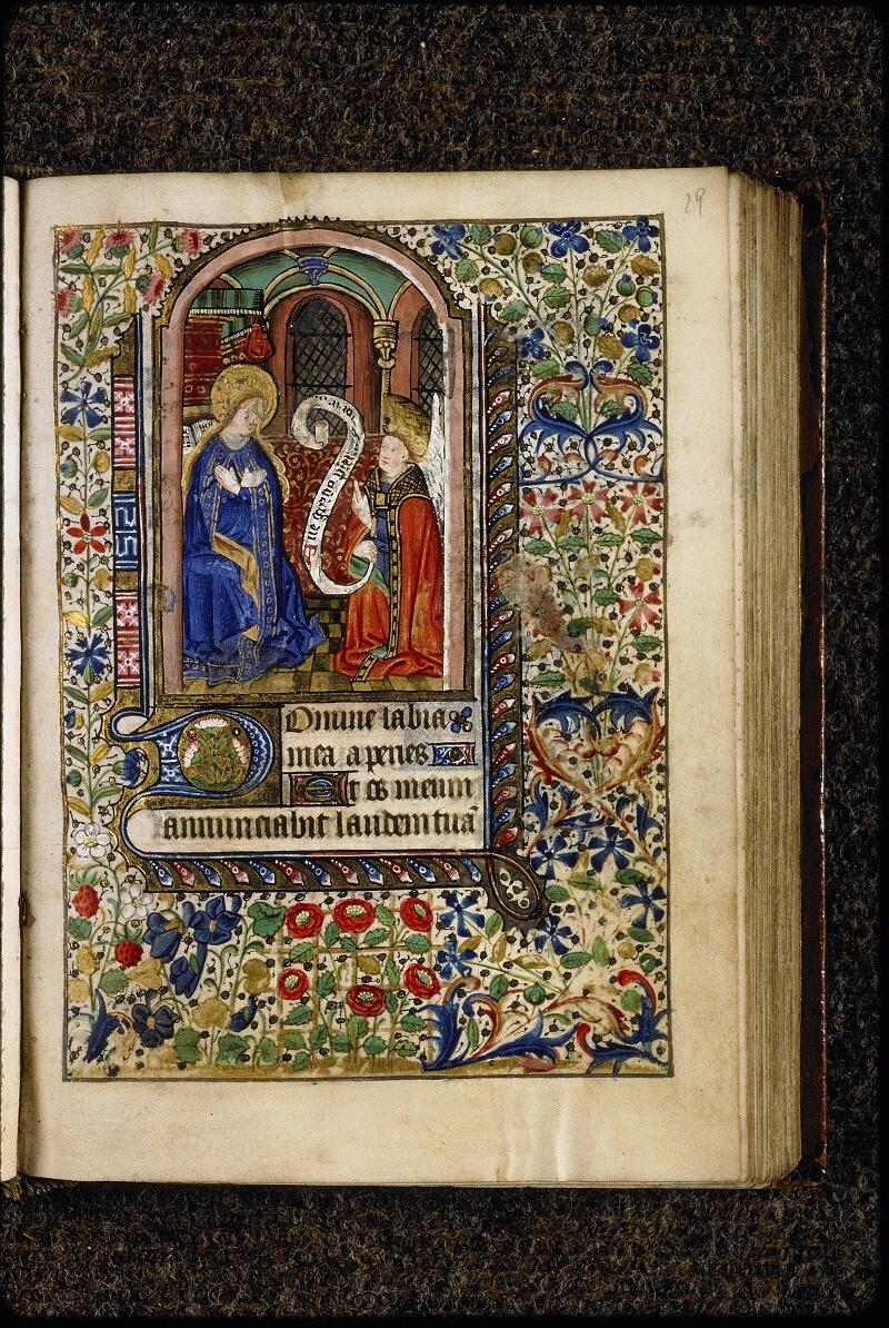 Lyon, Bibl. mun., ms. 5150, f. 029 - vue 1