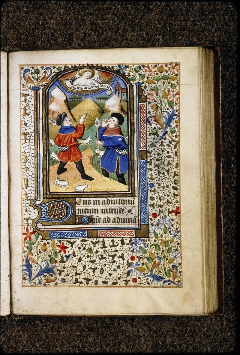 Lyon, Bibl. mun., ms. 5150, f. 056 - vue 1