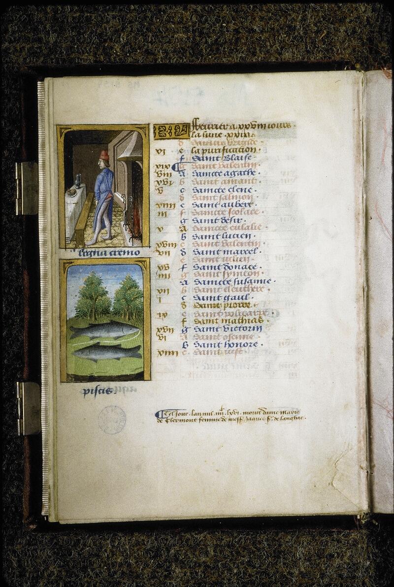 Lyon, Bibl. mun., ms. 5154, f. 002v - vue 1