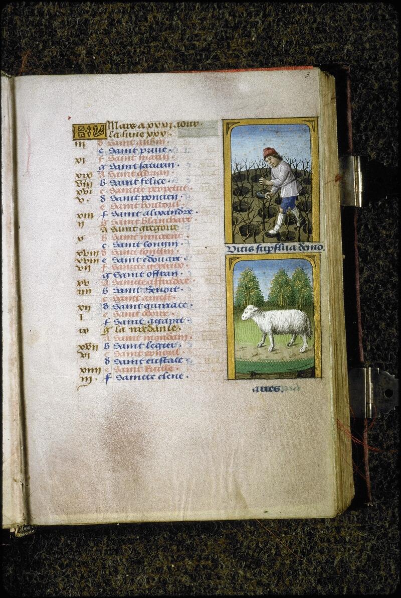 Lyon, Bibl. mun., ms. 5154, f. 003 - vue 1