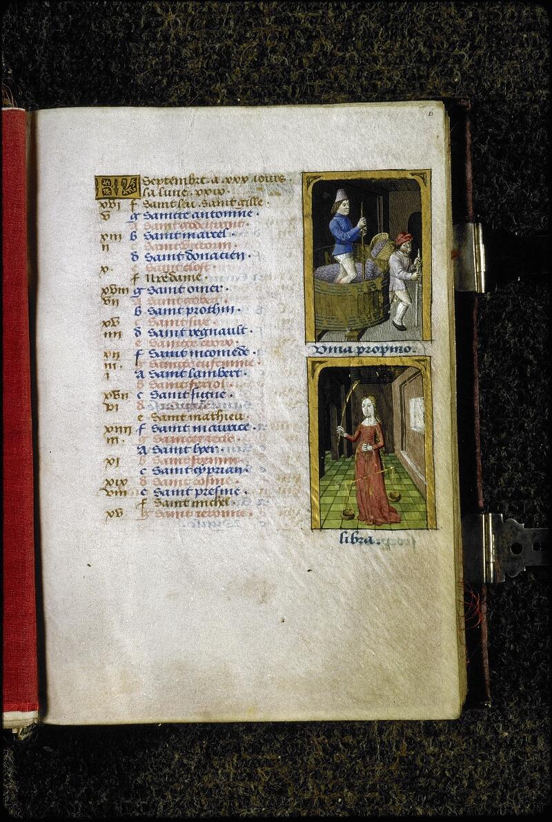 Lyon, Bibl. mun., ms. 5154, f. 006 - vue 1