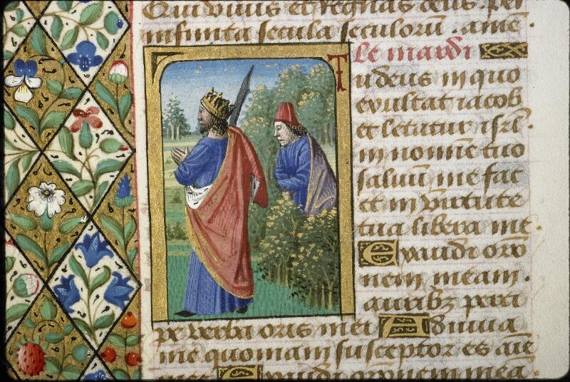 Lyon, Bibl. mun., ms. 5154, f. 168v - vue 2