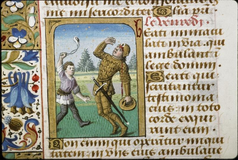 Lyon, Bibl. mun., ms. 5154, f. 178v - vue 2