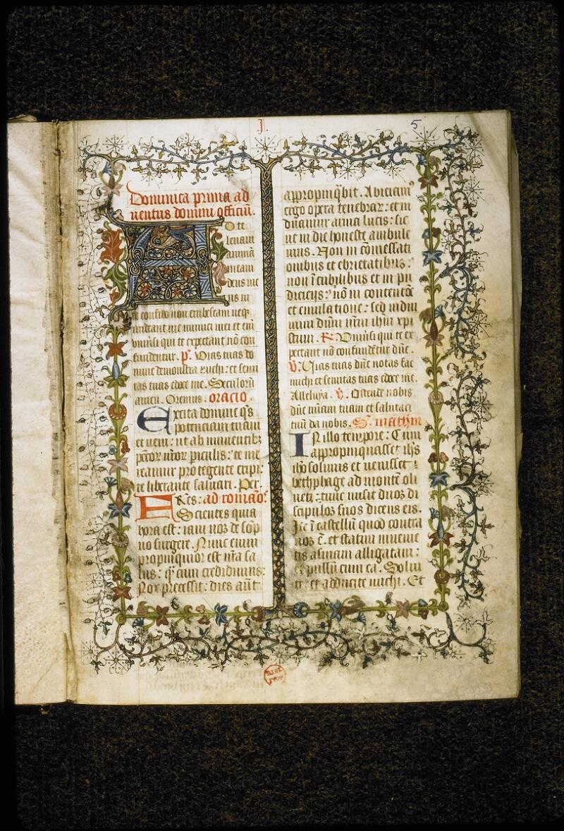 Lyon, Bibl. mun., ms. 5386, f. 005 - vue 2