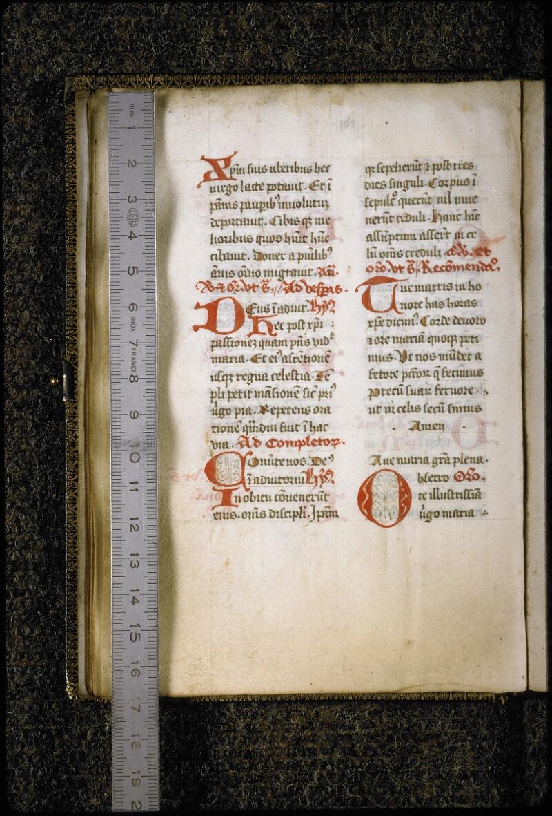 Lyon, Bibl. mun., ms. 5387, f. 016v - vue 1