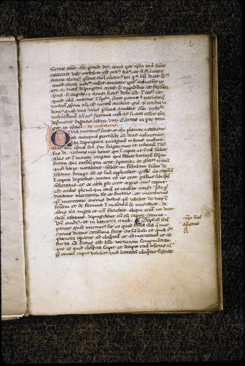 Lyon, Bibl. mun., ms. 5389, f. 002 - vue 2