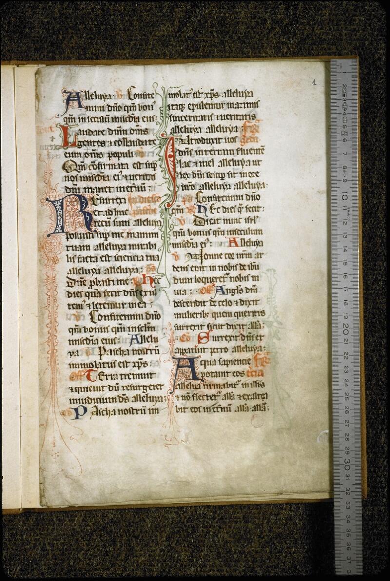 Lyon, Bibl. mun., ms. 5431, f. 001 - vue 1