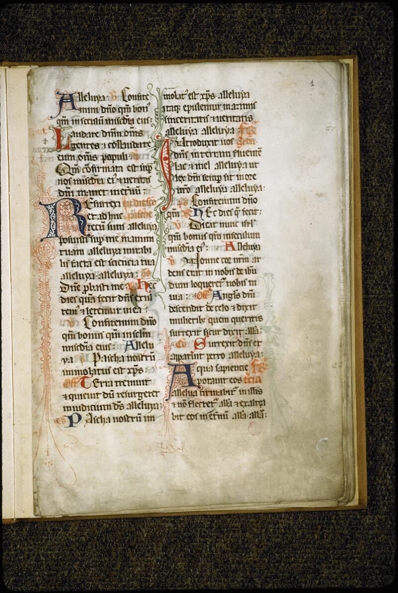 Lyon, Bibl. mun., ms. 5431, f. 001 - vue 2