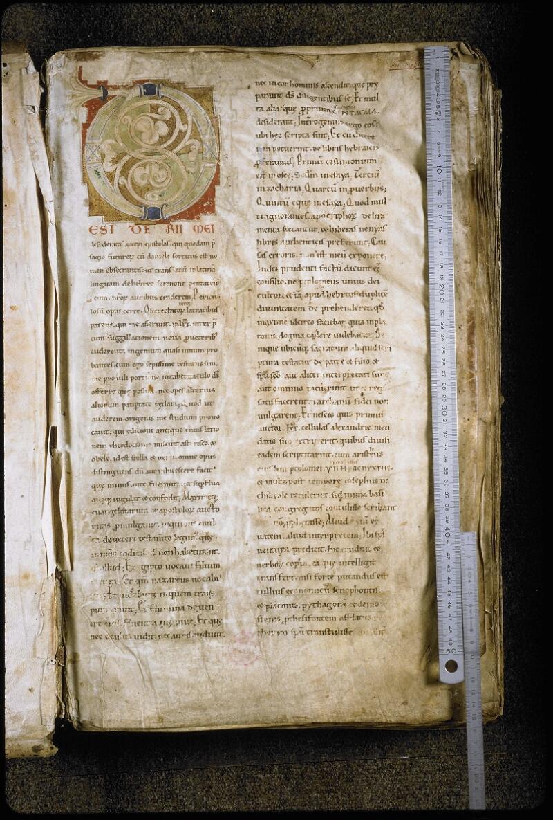 Lyon, Bibl. mun., ms. 5780, f. 001 - vue 1