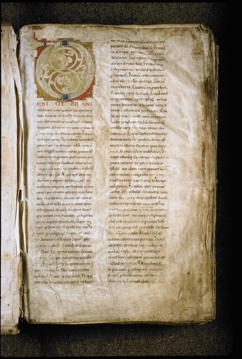 Lyon, Bibl. mun., ms. 5780, f. 001 - vue 2