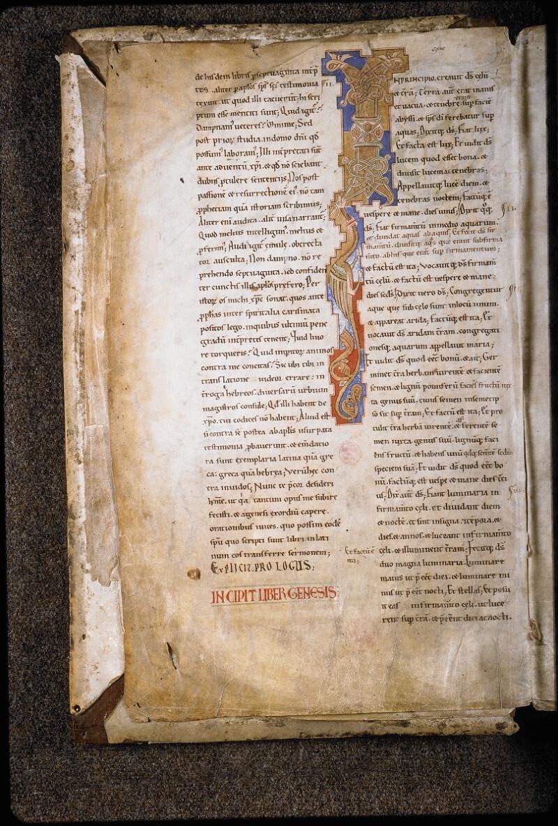 Lyon, Bibl. mun., ms. 5780, f. 001v - vue 1