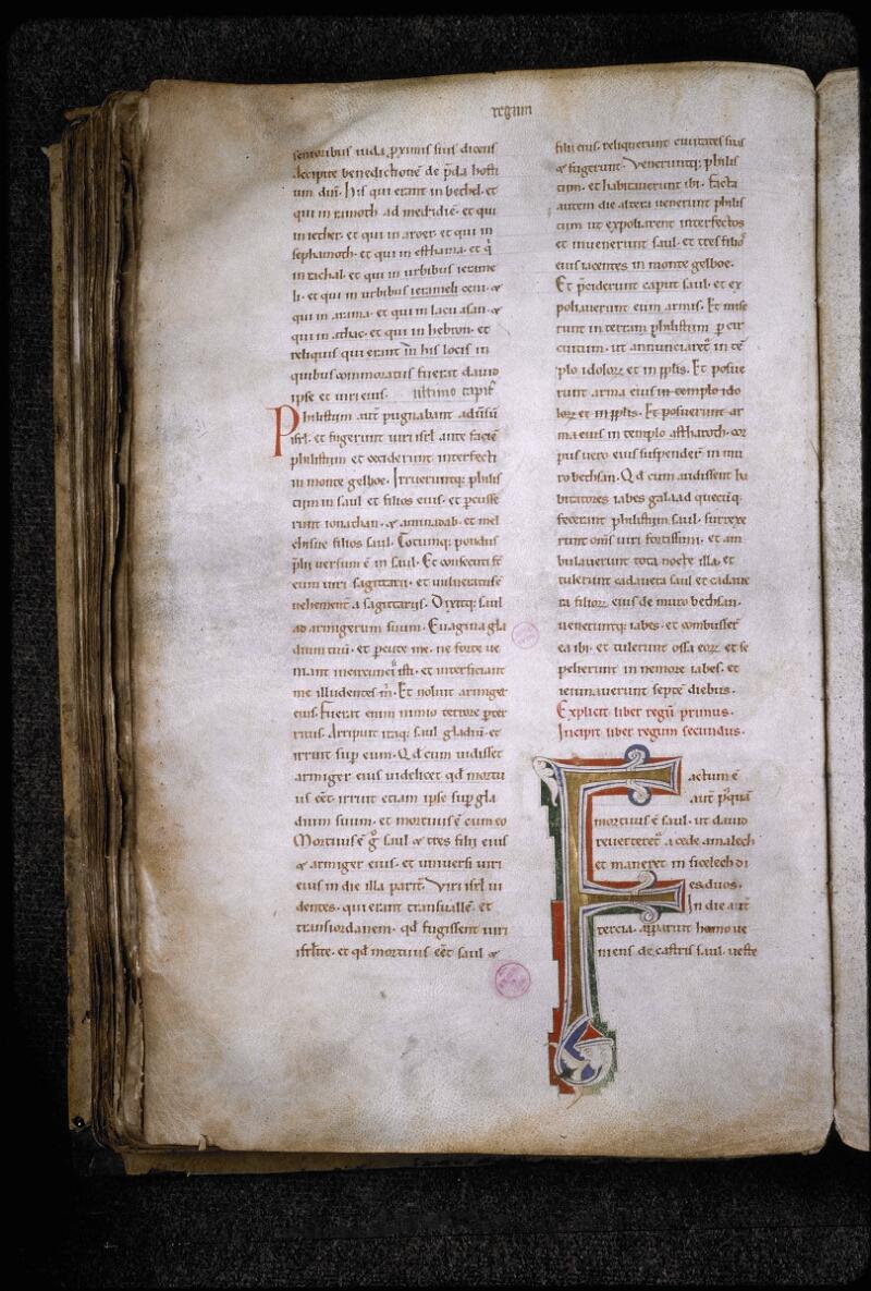 Lyon, Bibl. mun., ms. 5780, f. 155v - vue 1