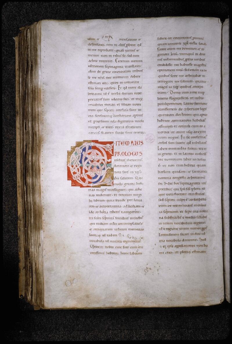 Lyon, Bibl. mun., ms. 5780, f. 208v - vue 1