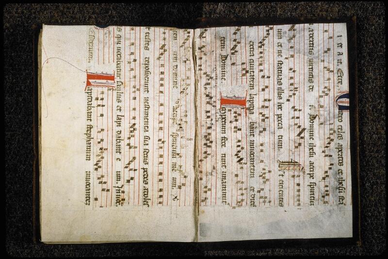 Lyon, Bibl. mun., ms. 5838, f. de garde v - contre-plat inf.