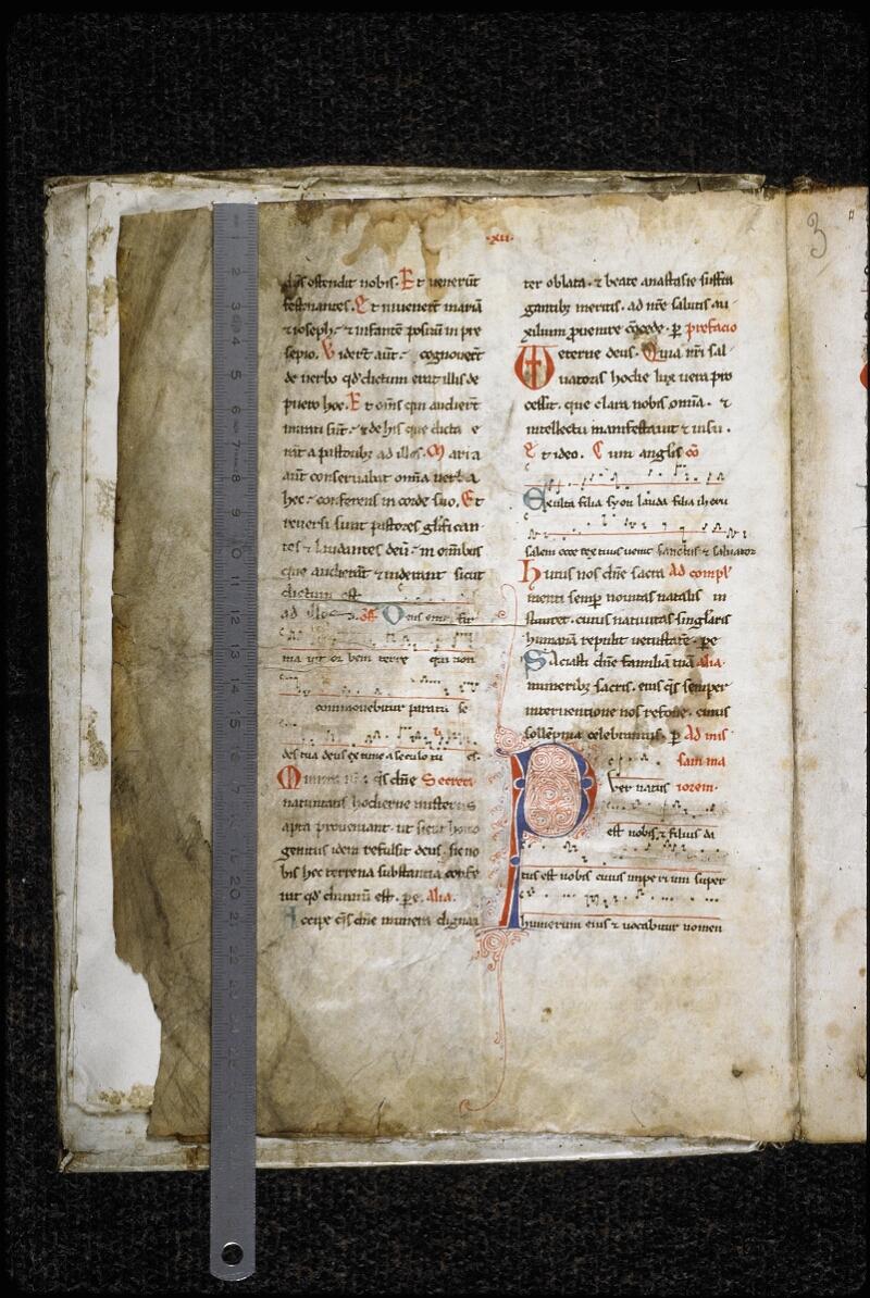 Lyon, Bibl. mun., ms. 5947, f. 002v - vue 1