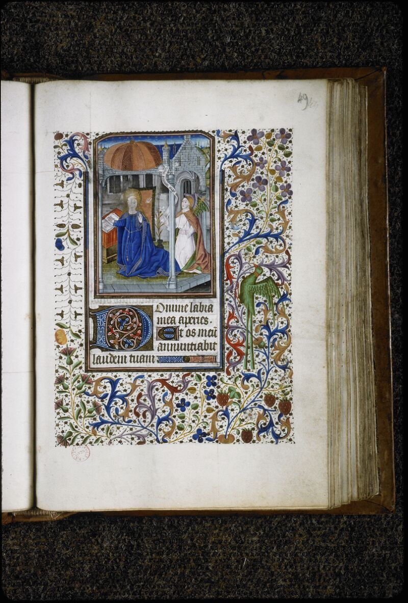 Lyon, Bibl. mun., ms. 5995, f. 049 - vue 1