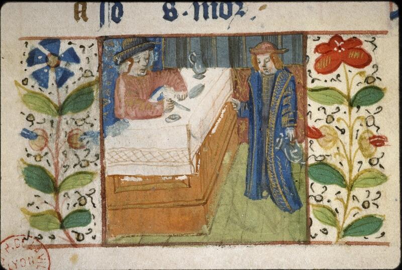 Lyon, Bibl. mun., ms. 5996, f. 001 - vue 4