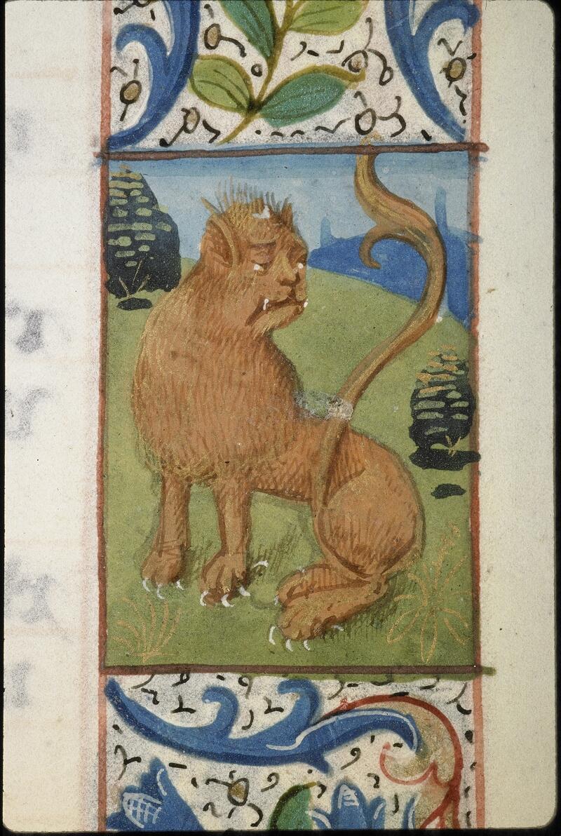 Lyon, Bibl. mun., ms. 5996, f. 007 - vue 1