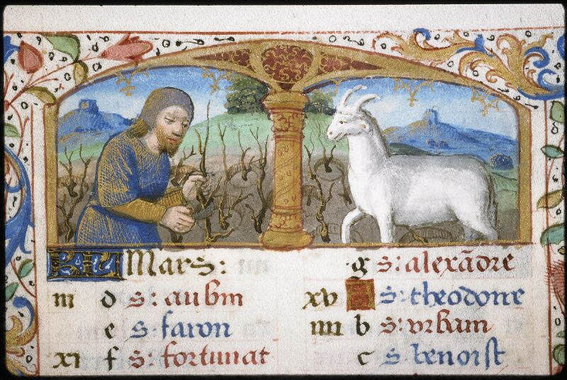 Lyon, Bibl. mun., ms. 5997, f. 003 - vue 1
