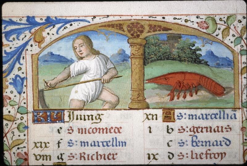 Lyon, Bibl. mun., ms. 5997, f. 004v - vue 1