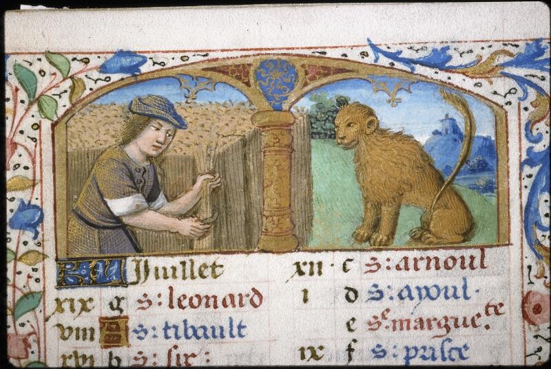 Lyon, Bibl. mun., ms. 5997, f. 005 - vue 1