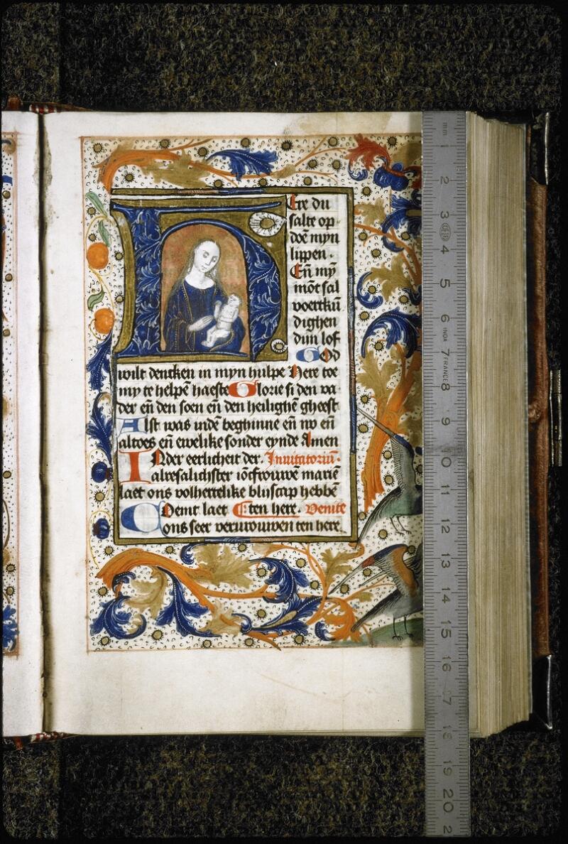 Lyon, Bibl. mun., ms. 5998, f. 015 - vue 1