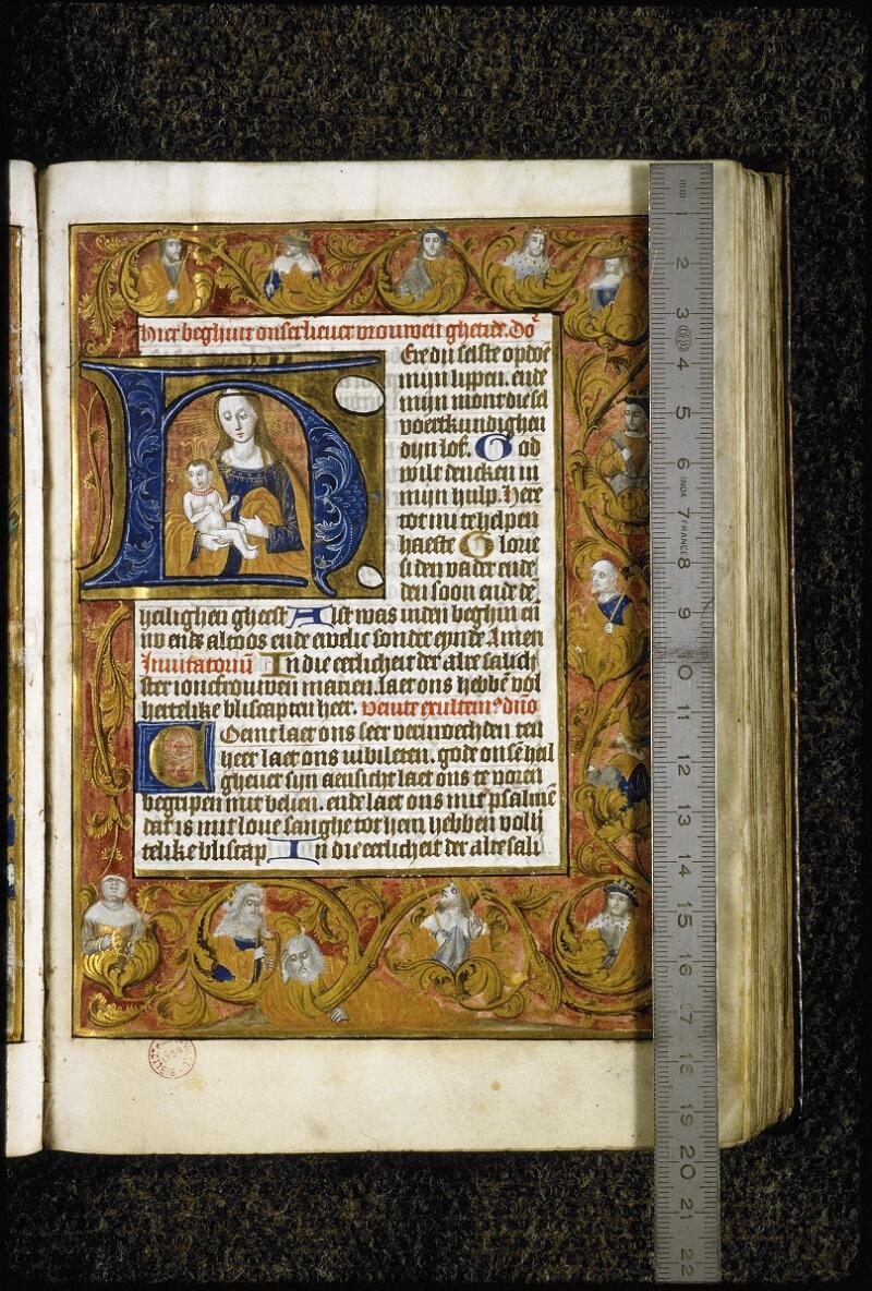 Lyon, Bibl. mun., ms. 5999, f. 014 - vue 1